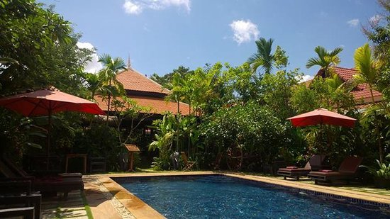 The Moon Boutique Hotel: Hotel swimming pool