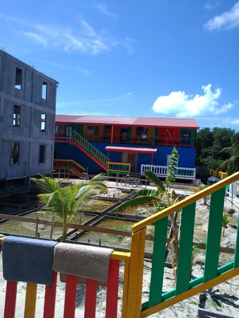 Dirty Mcnasty's Hostel : the new swimming pool and rooms are being built . ready 2016