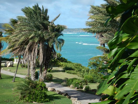 St. James's Club & Villas : Atlantic side view from room