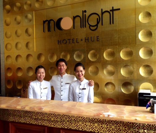 Moonlight Hotel Hue: The great staff!