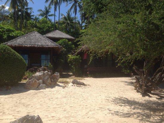 Sabai Beach Resort: Les chambres vues mer