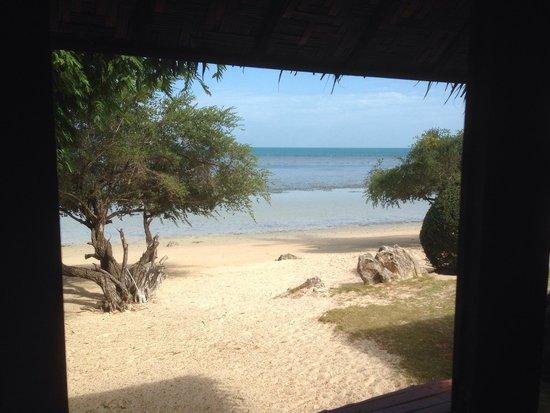 Sabai Beach Resort: Vue de la chambre