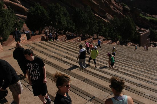 Red Rocks Park and Amphitheatre: The Red Rock ampitheater