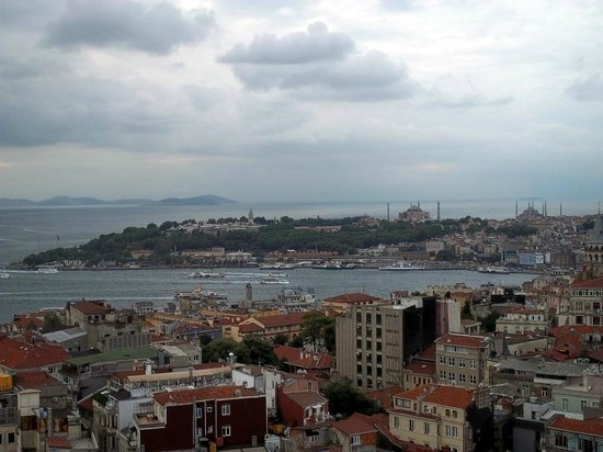 The Marmara Pera Hotel: best view from roof bar/pool area
