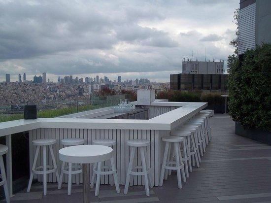 The Marmara Pera Hotel: roof bar