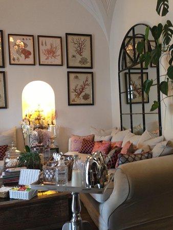 Casa Buonocore: Lounge room