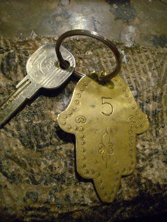 Kasbah Hotel Xaluca Arfoud: Room Key