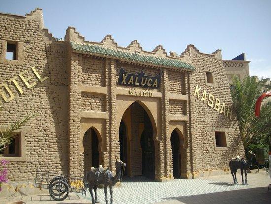 Kasbah Hotel Xaluca Arfoud: Main Entrance