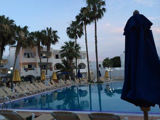 Hotel Nesrine: The pool