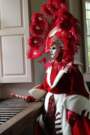 The Vyne: Another costumed figure