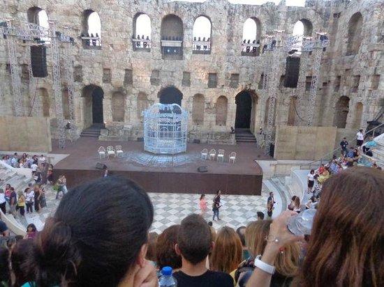 Herod Atticus Odeon : Stage.