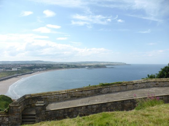 Scarborough Castle: also another north bay shot