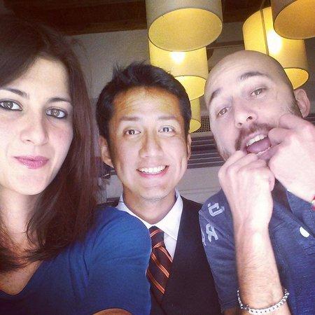 Vatican View: Alessandra, Antonio & Daniel