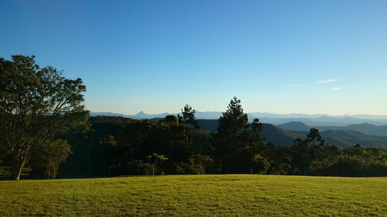 Southern Cross 4WD Tours: Lovely clear blue skies flanking a spectacular view