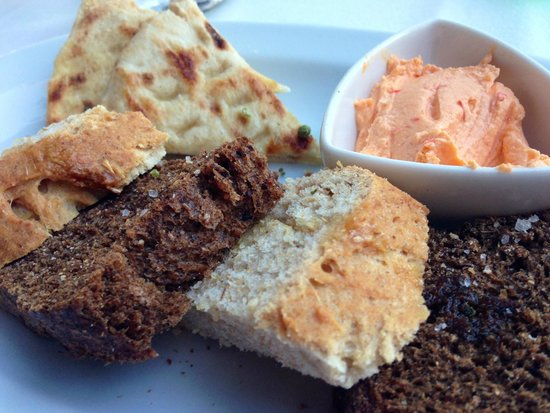 Ferryman Taverna : in-house bread