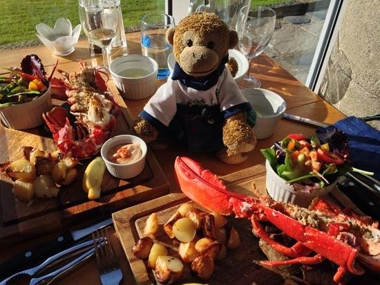 The Temple Restaurant: surf and turf - devine!