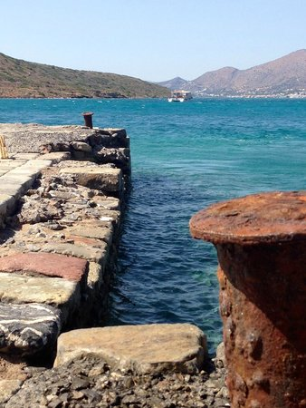 Spinalonga (Kalydon): Spinalonga jetty