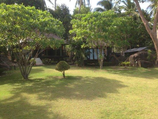 Sabai Beach Resort: Le beau jardin