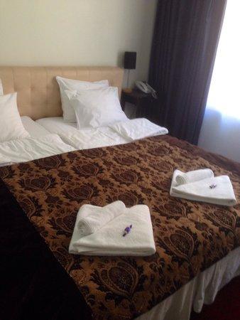 Best Western Hotel Carlton: Beds