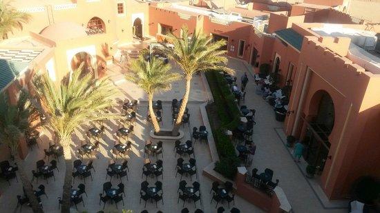 Club Magic Life Sharm el Sheikh Imperial : The entertainment terrace