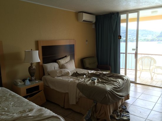 Lindbergh Bay Hotel and Villas: the room