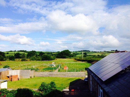 Spillers Farm: The amazing views from the king suite window ��