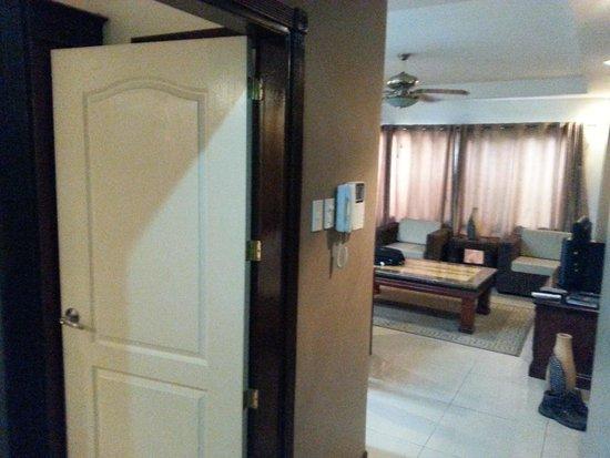 Affinity Condo Resort : Entrance