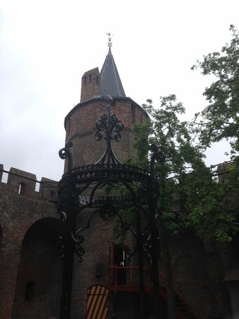 Muiderslot: From within the courtyard