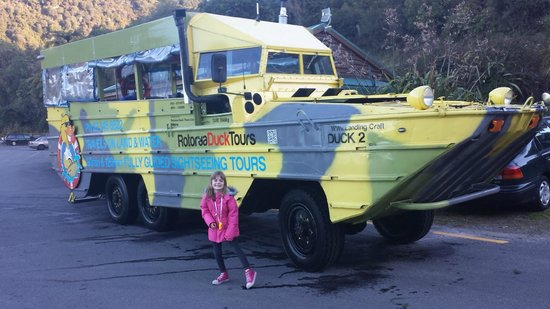 Rotorua Duck Tours: Go the Duck