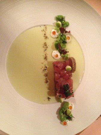Gourmet Restaurant Kronenstübli: Tartare di tonno