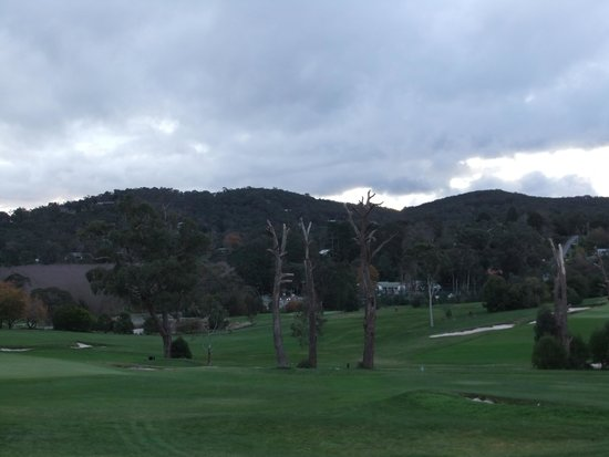 RACV Healesville Country Club: Golf course view