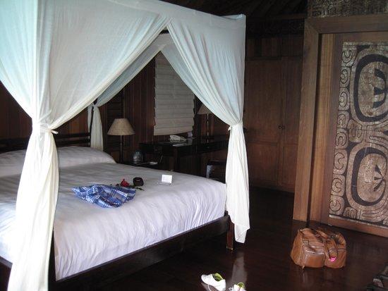 Conrad Bora Bora Nui : Deluxe bungalow