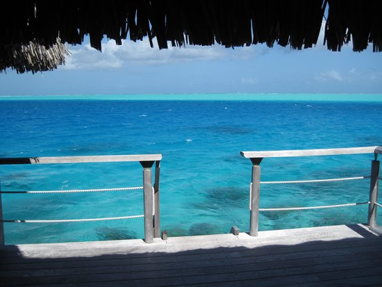 Conrad Bora Bora Nui : View from our 1st bungalow