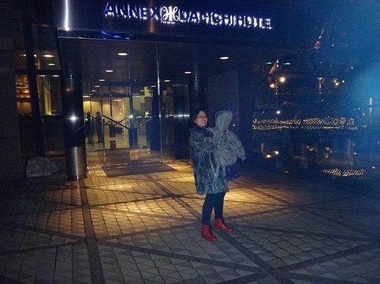 Dai-Ichi Hotel Annex: Front of hotel