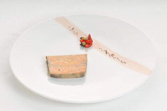 Hôtel-Restaurant Nougier : Foie gras