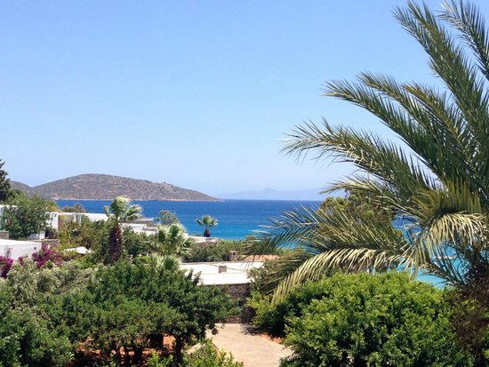 Elounda Bay Palace: view from our balcony