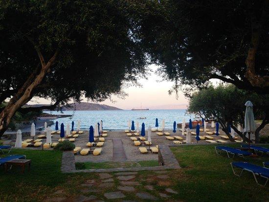 Elounda Bay Palace: one of beach areas