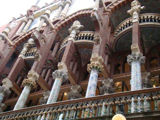 Palais de la Musique Catalane (Palau de la Musica Catalana) : Дворец каталонской музыки
