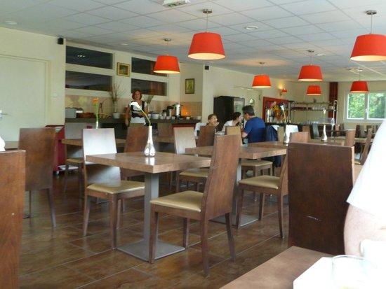 Relais du Plessis Resort: Pièce où nous prenions nos repas