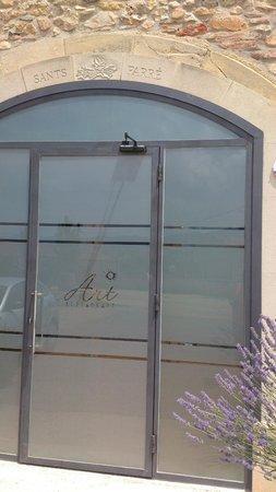 Art Restaurant : la entrada