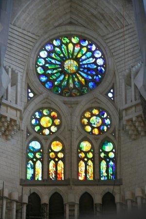 Sagrada Família : Stained glass windows