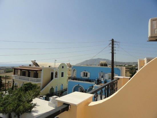 Villa Anemone: Vista dalla camera