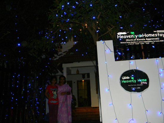 Heavenly Home Stay: Night View of Entry