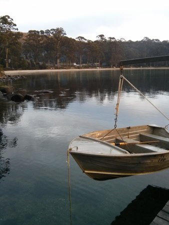 Stewarts Bay Lodge: Jetty view