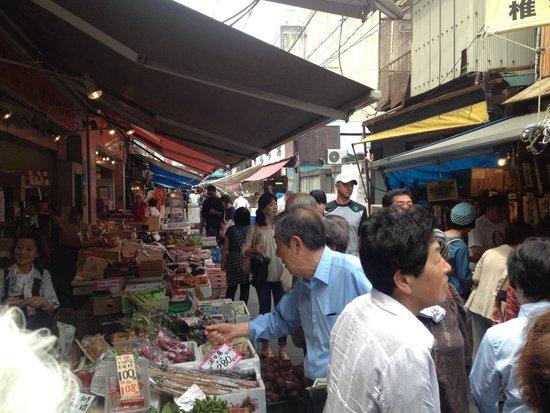 The Tsukiji Market: Fish Market