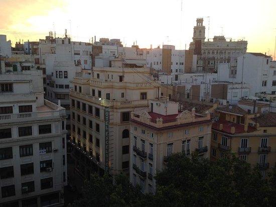 Ayre Hotel Astoria Palace: Sunset view