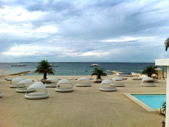 Be Resorts - Mactan: Beach front of Be Resorts
