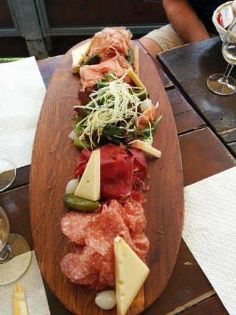 Bergrestaurant Blatten : Meat Platter ;-)
