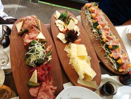 Bergrestaurant Blatten : Meat and Cheese Platters ;-)