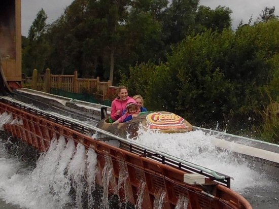 Crealy Adventure Park & Resort: The little ones loved the logflume!